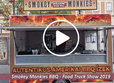 Smokey Monkies FoodTruck Show 2019